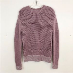 Kate Spade Metallic Cozy Crewneck Sweater (H)